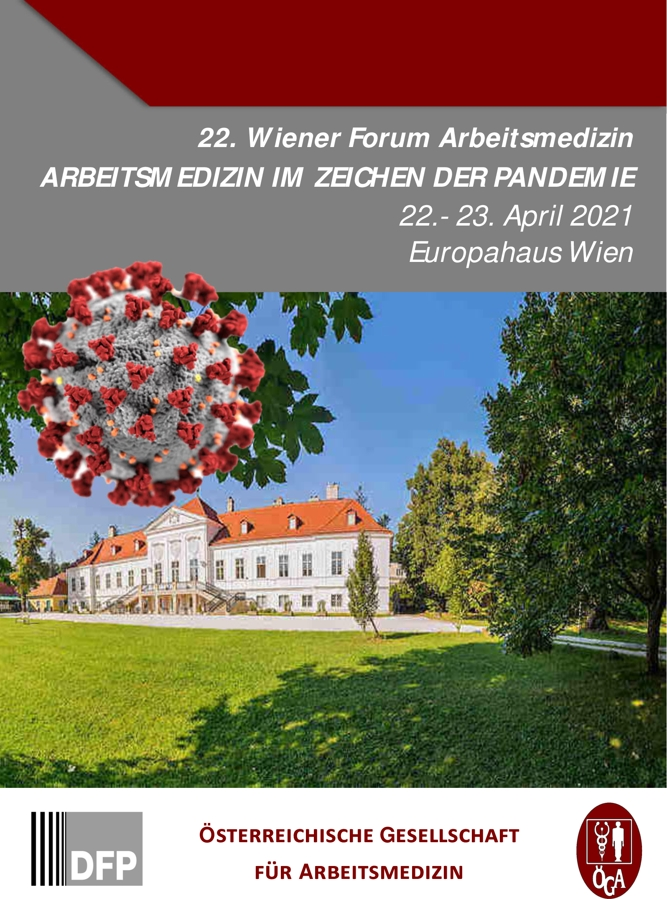 22. Wiener Forum Arbeitsmedizin